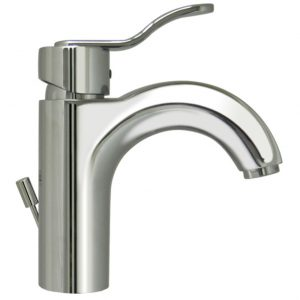 3-04040-C - Wavehaus Single Hole/Single Lever Lavatory Faucet with Pop-up Waste