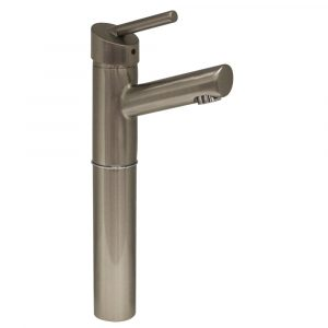"3-3245-BN - Centurion Single Hole/ Single Lever Elevated Lavatory Faucet with 7"" Extension and Short Spout"