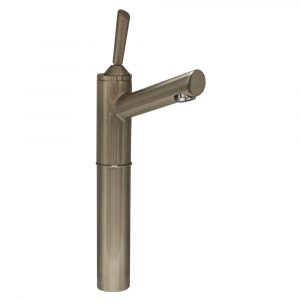 "3-3344-BN - Centurion Single Hole Stick Handle Elevated Lavatory Faucet with 7"" Extension and Long Spout"