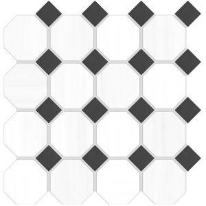 BMX-6000778 Vallelunga Dolomiti Ottagona 11.8 x 11.8 inch glazed porcelain tile