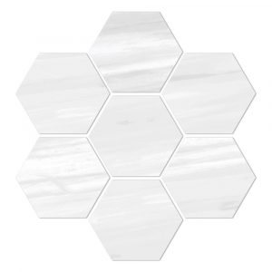 BMX-6000989 Vallelunga Dolomiti Esagona 11.8 x 11.1 inch glazed porcelain tile