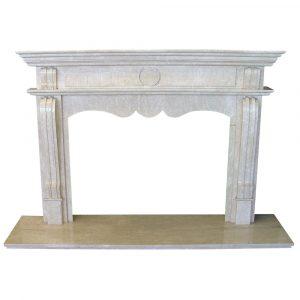 BMX-1005 Balocci Torino marble fireplace mantel