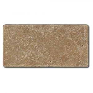 BMX-1088 3x6 Noce travertine tile, Tumbled