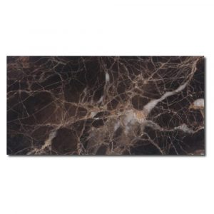 BMX-1094 3x6 Emperador Dark marble tile, Polished