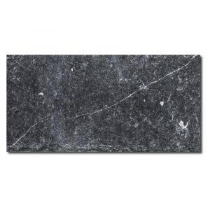 BMX-1104 3x6 Nero Marquina marble tile, Tumbled