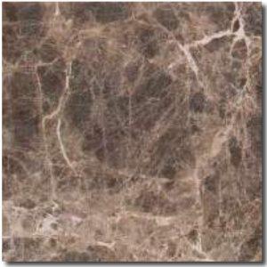BMX-1117 4x4 Emperador Dark marble tile, Tumbled