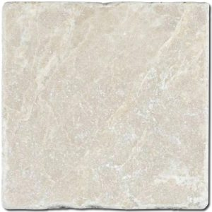 BMX-1120 4x4 Bottocino marble tile, Tumbled