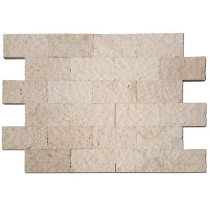 BMX-1125 6x12 Royal Beige marble wall veneer, Split Face