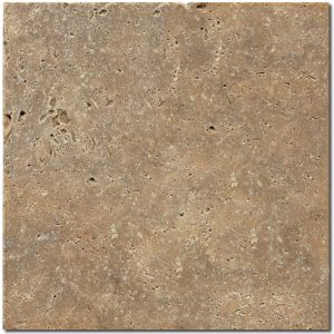 BMX-1179 12x12 Noce travertine tile, Tumbled