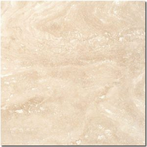 BMX-1180 12x12 Ivory travertine tile, Honed / Filled