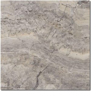 BMX-1183 12x12 Silver travertine tile, Honed / Filled