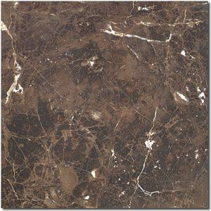 BMX-1194 12x12 Emperador Dark marble tile, Tumbled