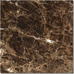 BMX-1217 12x12 Emperador Dark marble tile, Polished