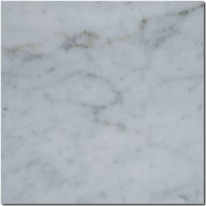 BMX-1229 12x12 Carrara White marble tile, Honed