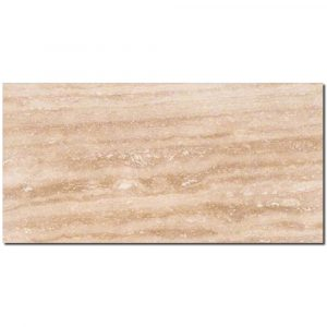 BMX-1263 12x24 Walnut Vein Cut  travertine tile, Honed / Filled