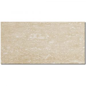 BMX-1269 12x24 Ivory Vein Cut travertine tile, Honed / Filled