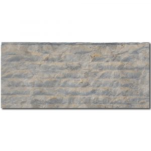 BMX-1814 8x18 Benjamin Grey limestone veneer wall panel