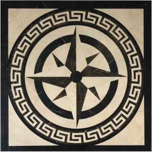 BMX-M1 Square medallion tile