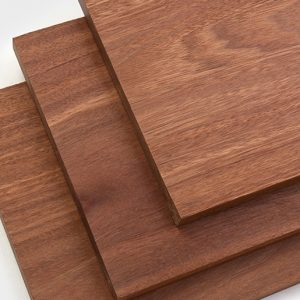 NVW-2296 Batu 1x10 Trim Boards, Red Balau S4S Square Edge Fascia Board