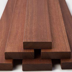 NVW-1856 ExoDek Decking 5/4x4 Red Balau Deck Boards