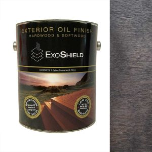 NVW-2513 ExoShield Black Walnut Exterior Tung Oil Finish Wood Stain