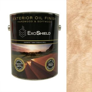 NVW-2509 ExoShield Clear Exterior Tung Oil Finish Wood Stain
