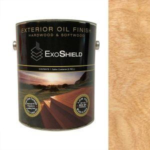 NVW-2508 ExoShield Natural Exterior Tung Oil Finish Wood Stain