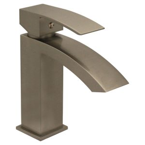 WH2010001-BN - Jem Collection Single Hole/Single Lever Lavatory Faucet with Pop-Up Waste
