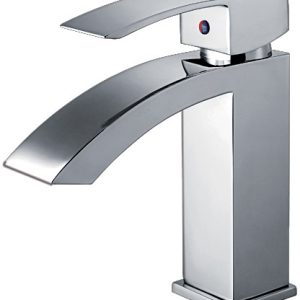 WH2010001-C - Jem Collection Single Hole/Single Lever Lavatory Faucet with Pop-Up Waste