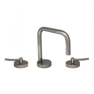 WH81214L-C - Metrohaus Lavatory Widespread Faucet with Swivel Spout, Pop-up Waste and Lever Handles