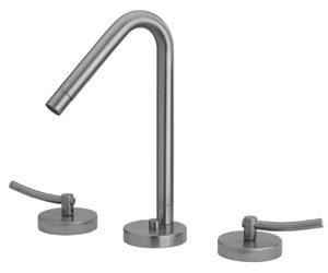 WH81214-C - Metrohaus Lavatory Widespread Faucet with 45-Degree Swivel Spout, Pop-up Waste and  Lever Handles