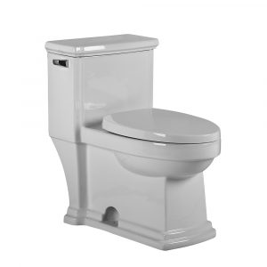 WHMFL221-EB - Magic Flush Eco-Friendly One Piece Single Flush Toilet with  Elongated Bowl, and a 1.28 GPF capacity