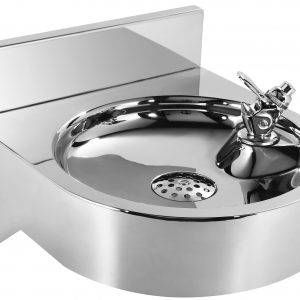 WHNCDF1214 - Noah's Collection Stainless Steel Commerical Wall Mount Drinking Fountain