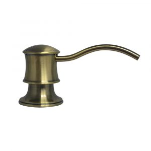 WHSD45N-AB - Solid Brass Soap/Lotion Dispenser