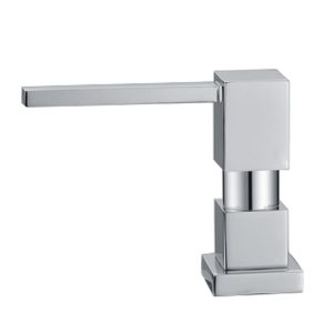 WHSQ-SD003-BN - Q-Haus Solid Brass Soap/Lotion Dispenser