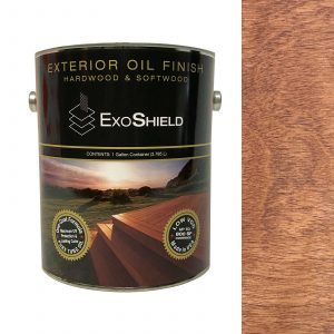 NVW-4029 ExoShield Walnut Exterior Oil Finish Wood Stain One Gallon