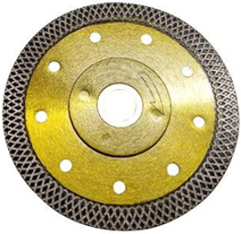 Wet or Dry Cutting Mesh Rim Blade for Pavers