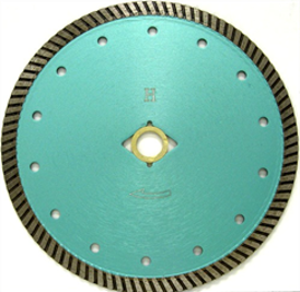 Wet or Dry Cutting Turbo Blade for Granite and Stone